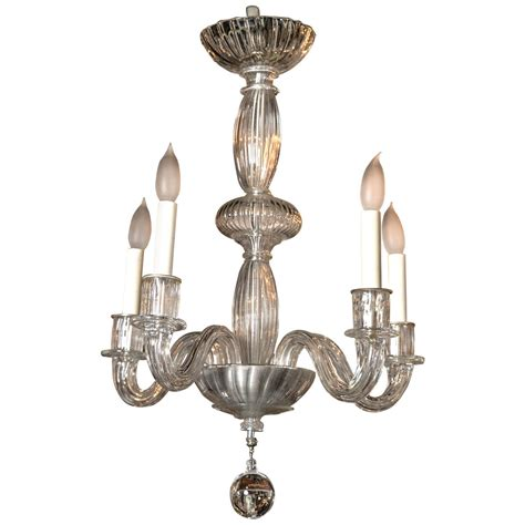 1940s Chandelier Venetian Chandelier Circa 1940s For Sale At 1stdibs