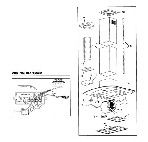 wiring diagram for broan range wiring diagram for