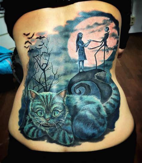 cat tattoo tim burton tim burton s the nightmare before christmas and the