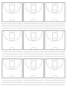 Basketball Half Court Template by Half Court Basketball Play Template Modifikasi Sepeda Motor