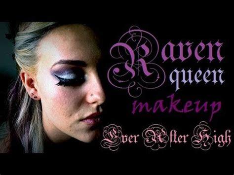 makeup tutorial raven queen ever after high makeup raven queen youtube