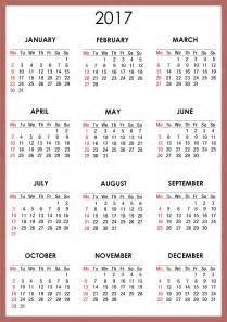 Calendar For 2018 Printable Free Printable Calendar Templates 2017 Printable