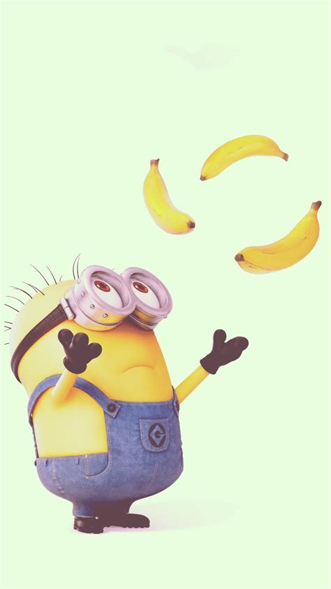 wallpaper banana for iphone 2014 halloween cute minion and bananas iphone 6 wallpaper