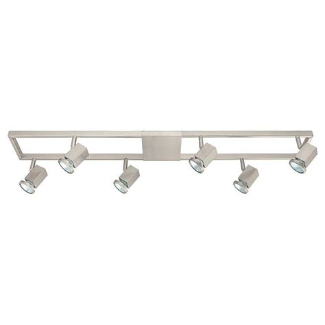 Hton Bay Mya 1 Light Satin Nickel Track Pendant Pn 1mya Hton Bay Track Lighting Pendant
