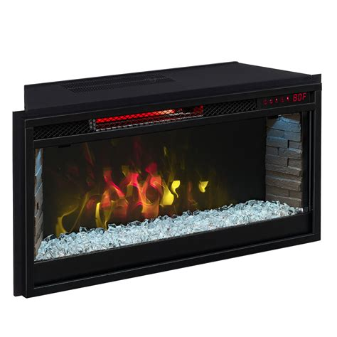 comfort smart electric fireplace comfort smart 28 in contemporary infrared electric