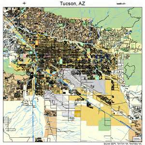 tucson arizona map 0477000