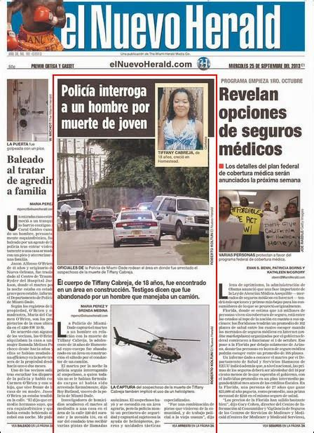 miami herald weekend section random pixels blog two newspapers two approaches to a