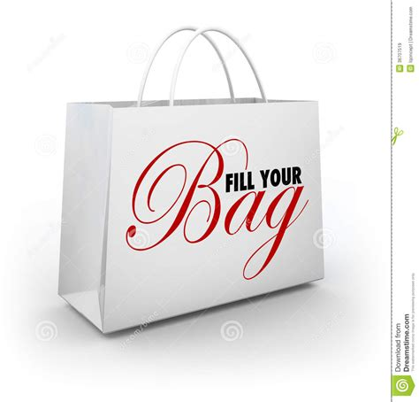 Your Bag by Fill Your Bag Shopping Spree Spend Splurge Binge Money
