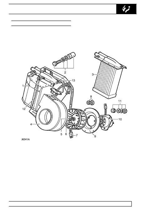 diodes inc milpitas land rover defender heater blower resistor 28 images land rover workshop manuals gt 300tdi