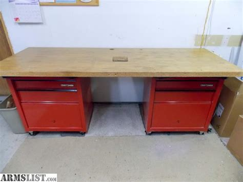 reloading work bench armslist for sale reloading work bench w tool chests