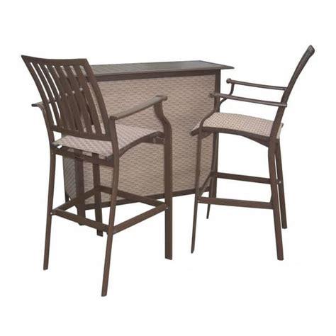 bar stool patio set island breeze bar stools