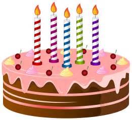 happy birthday cartoon cake clipart