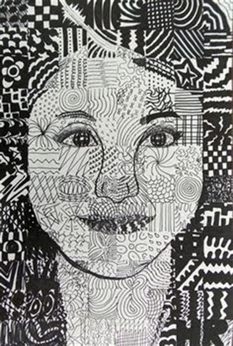 grid pattern portrait grid pencil drawing portraits middle school art ms depuma