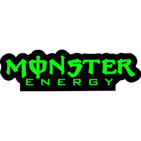 Energy Pod Sticker Et Autocollant Monster Energy Letrrage