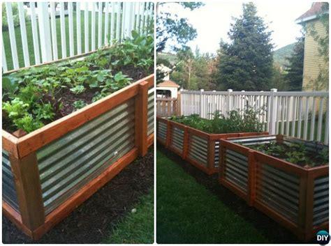 galvanized raised garden bed diy raised garden bed ideas instructions free plans