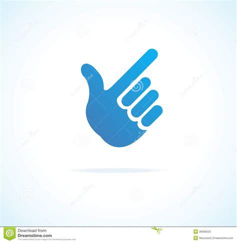imagenes de jordan vector cursor de papel de la mano se 241 alando vector del icono