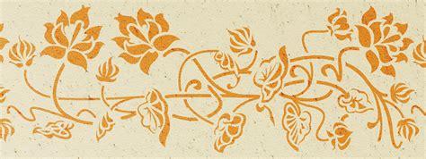 bordure kinderzimmer schablone wandschablonen kranich 2 bord 252 re passend zu kranich 1