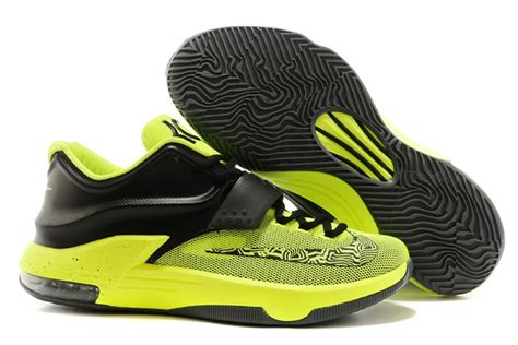 kevin durant basketball shoes nike kevin durant kd 7 basketball shoes black green