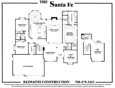 santa fe floor plans santa fe floor plans home flooring ideas