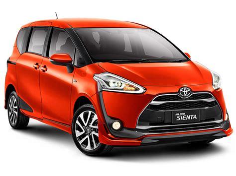 Lu Depan Mobil Toyota Tipe Warna Dan Harga All New Toyota Sienta