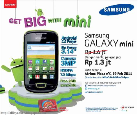 Handphone Samsung Galaxy Pocket tabel harga samsung hp samsung galaxy mini gt s5570 apps