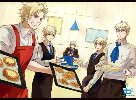 hetalia x doll reader nordics x reader nordic cafe part 1 by s1cupcake on