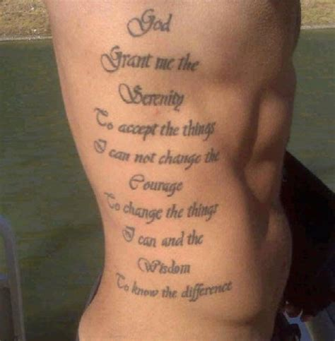 tattoo quotes down side body side body tattoo ideas religious tattoo tattoomagz