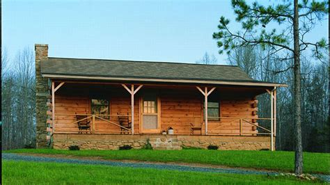 Cabin Plans With Porch by Log Home Design Plan And Kits For Pathfinder