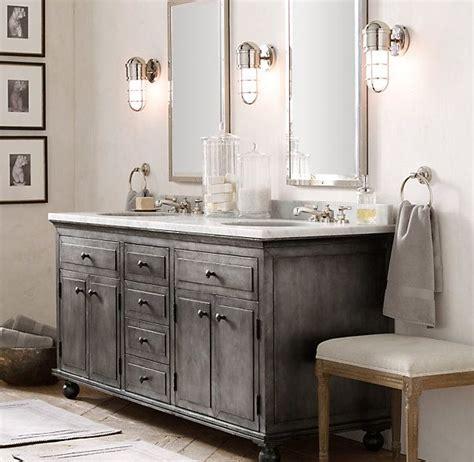 how to distress bathroom cabinets zinc double vanity sink bathroom vanities pinterest