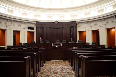 Supreme Court Room by Homes Of The Court
