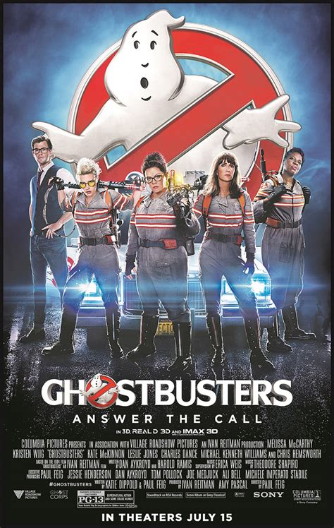 film ghostbusters 2016 ghostbusters movie poster www imgkid com the image kid