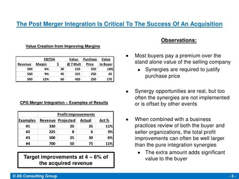 post merger integration keys to success
