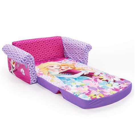kids flip open sofa spin master marshmallow furniture flip open sofa disney