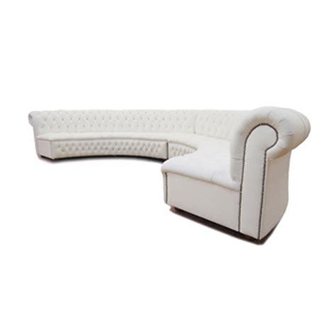 curved chesterfield sofa curved chesterfield sofa the truman curved