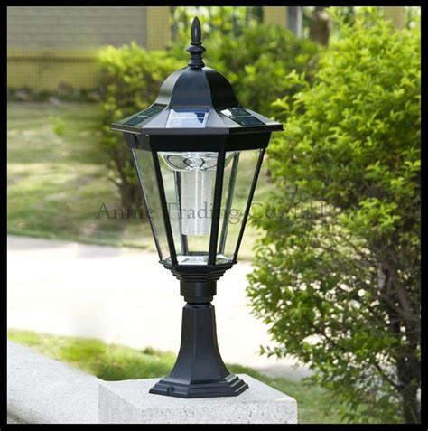 Solar Pillar Light Buy Wholesale Solar Pillar Lights From China Solar