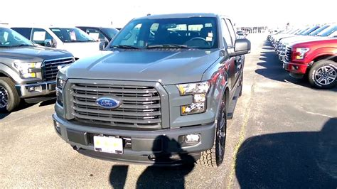 Forde Gry Grey 2016 special edition litium gray f 150 xlt 302a package