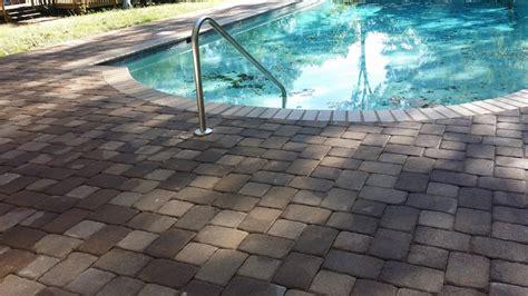 concrete or paver patio paver patio nc pavers