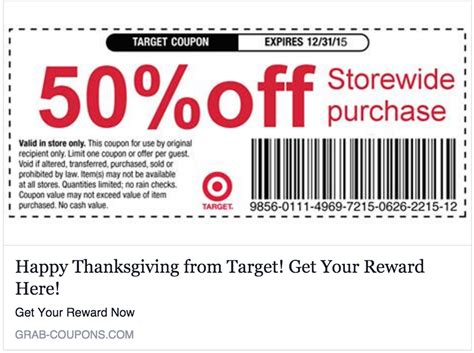 Promo Code No Target Is Not Giving You A 50 Everything Coupon