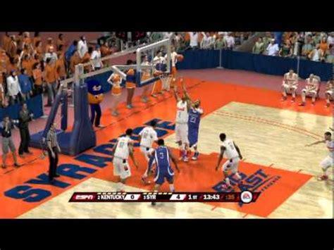 ncaa basketball 10 ps3 roster ncaa basketball 12 gameplay ps3 kentucky vs syracuse