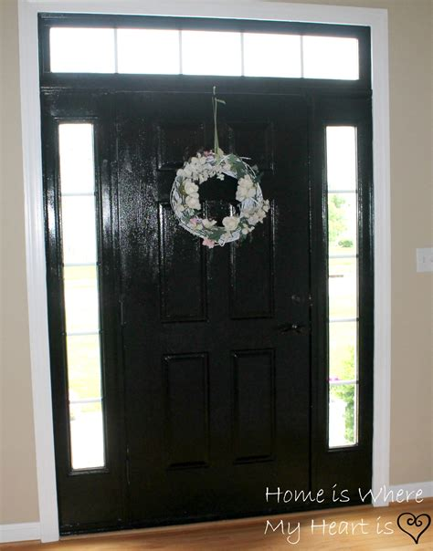 do you paint both sides of a front door the same color painting interior doors black both sides all the old