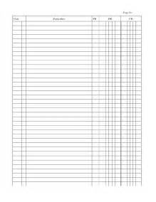 printable ledger template doc 951646 printable accounting ledger general ledger