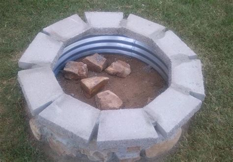 diy pit 100 how to build a simple outdoor pit for less than 100