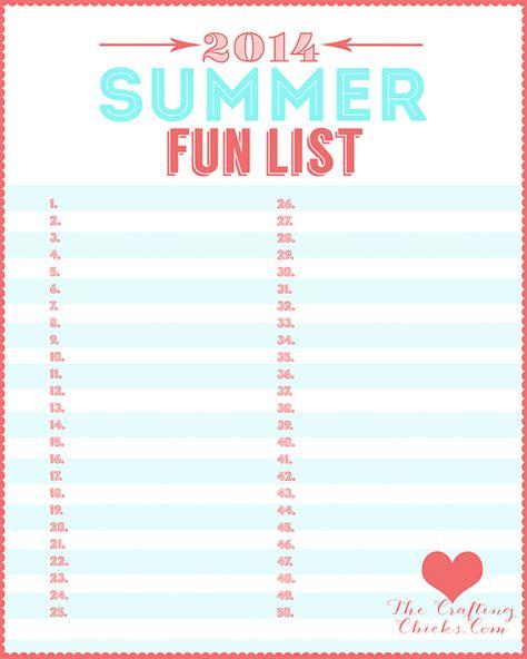 summer to do list template 160 summer list ideas the crafting