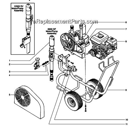Ban Motor Tubetype 275 17 Sc 102 Tt titan 6900 sf parts list and diagram 600 160 ereplacementparts