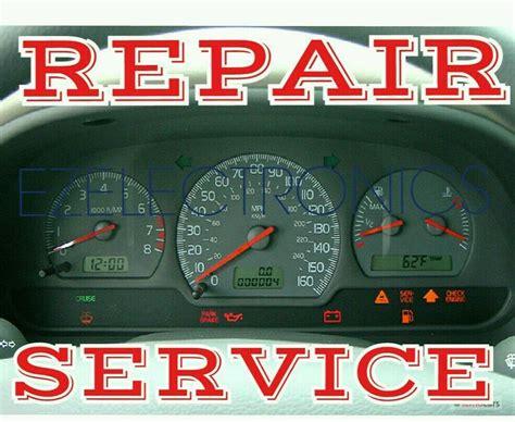 transmission control 2004 volvo v40 instrument cluster 2000 2001 2002 volvo s40 v40 speedometer instrument cluster repair service ebay