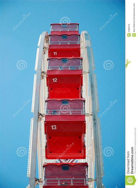 what are the seats on a ferris wheel called ferris wheel seats royalty free stock images image 2482079