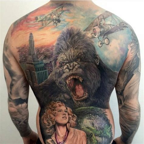 king kong tattoo tribute best tattoo ideas gallery