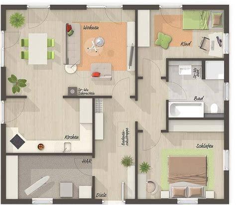 wohnung 65 m2 grundriss grundriss erdgeschoss tend bunglaow 92