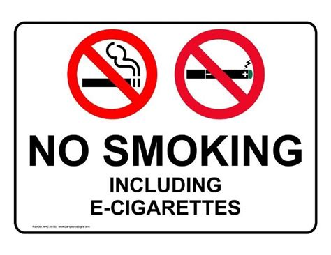 no smoking signs company vehicles construction industry cls down on vaping
