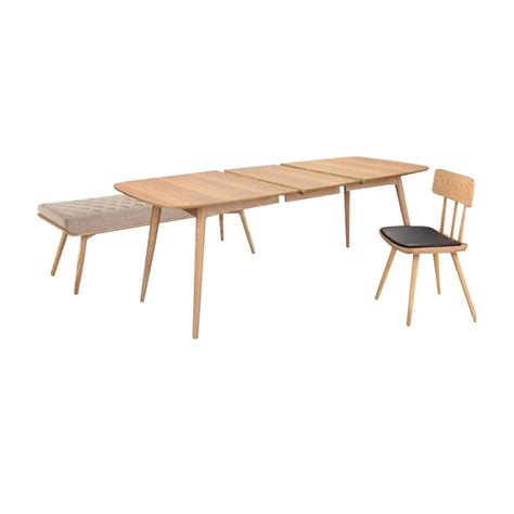 Table à Manger Scandinave by Oural Xl Frene Table 224 Manger Extensible Bois Au Design